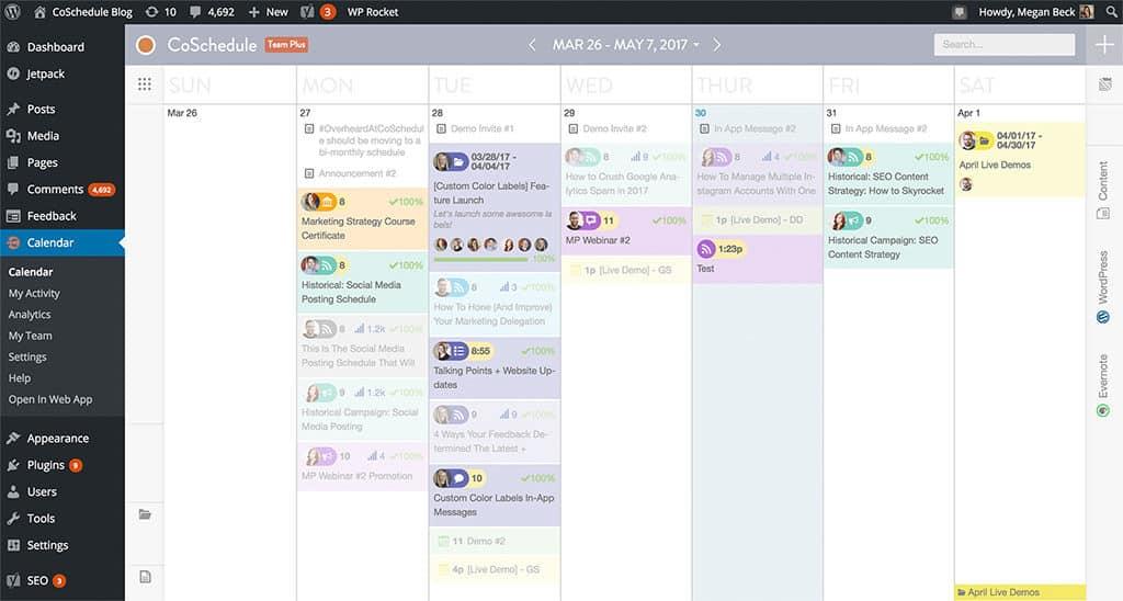 CoSchedule's WordPress Plugin